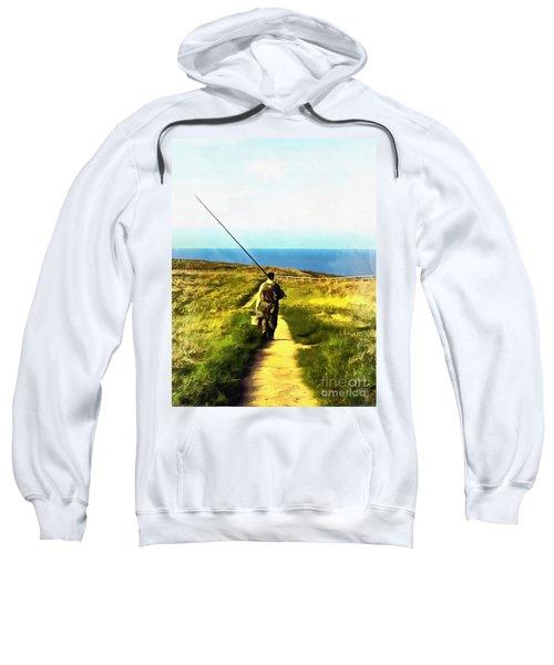 A Plaice To Fish Sweatshirt