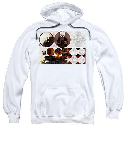 Abstract Painting - Smoky Black Sweatshirt