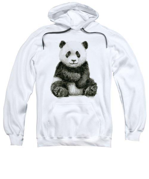 Baby Panda Watercolor Sweatshirt