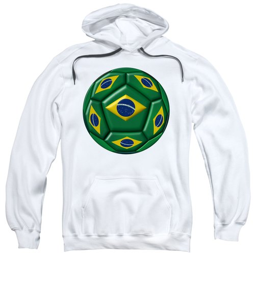 Ball With Brazilian Flag Sweatshirt