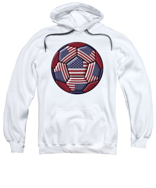 Ball With United States Flag Sweatshirt