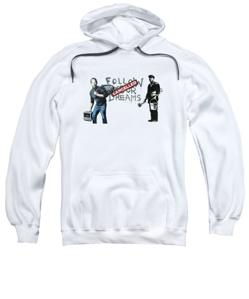 Banksy - The Tribute - Follow Your Dreams - Steve Jobs Sweatshirt