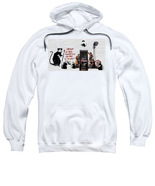 Banksy - The Tribute - Rats Sweatshirt