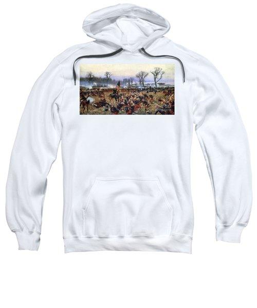 Battle Of Fredericksburg - To License For Professional Use Visit Granger.com Sweatshirt