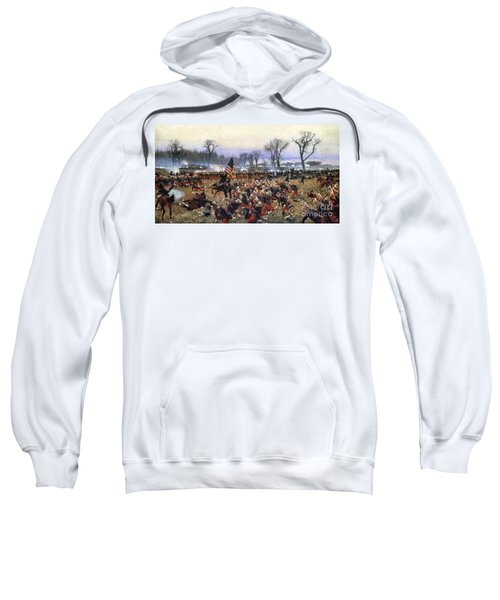 Battle Of Fredericksburg - To License For Professional Use Visit Granger.com Sweatshirt