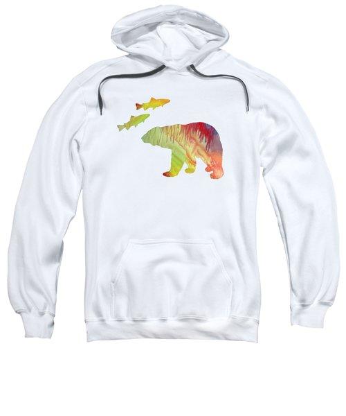 Bear And Salmon Sweatshirt