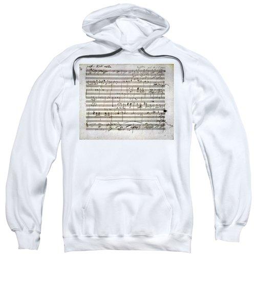 Beethoven Manuscript Sweatshirt