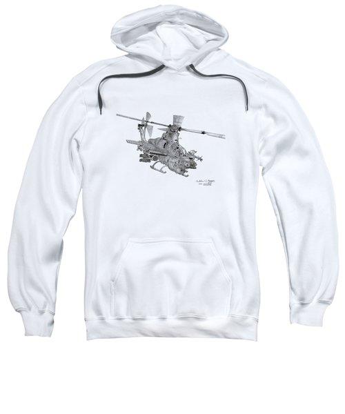 Bell Ah-1z Viper Sweatshirt by Arthur Eggers