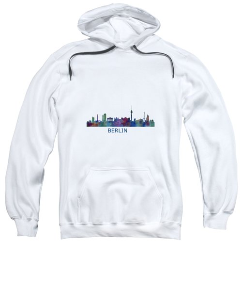 Berlin City Skyline Hq 1 Sweatshirt by HQ Photo