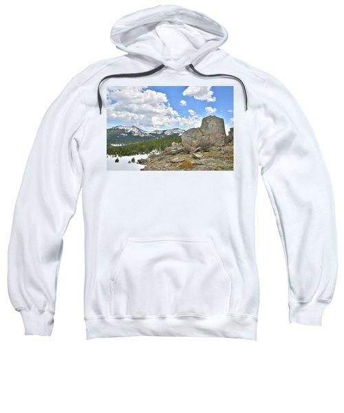 Big Horn Mountains In Wyoming Sweatshirt