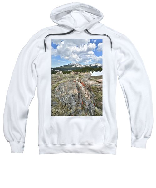 Big Horn Pass In Wyoming Sweatshirt