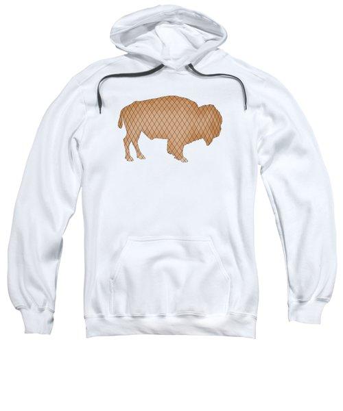 Bison Sweatshirt by Mordax Furittus
