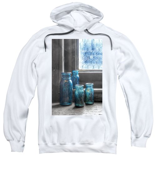 Bromo Seltzer Vintage Glass Bottles Sweatshirt