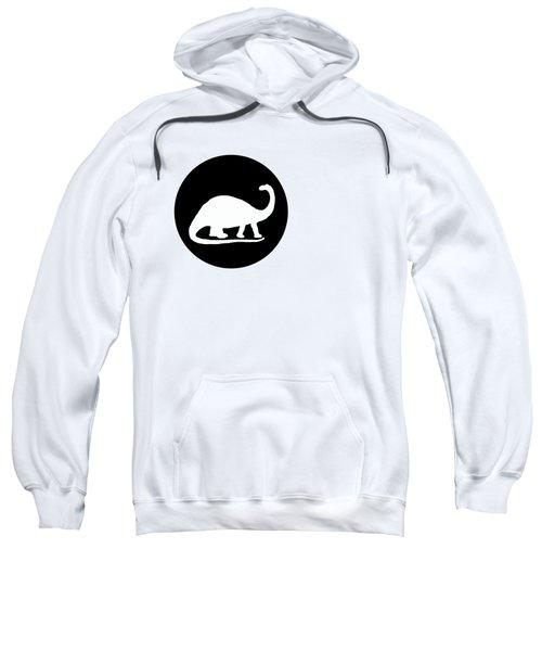 Brontosaurus Sweatshirt by Mordax Furittus
