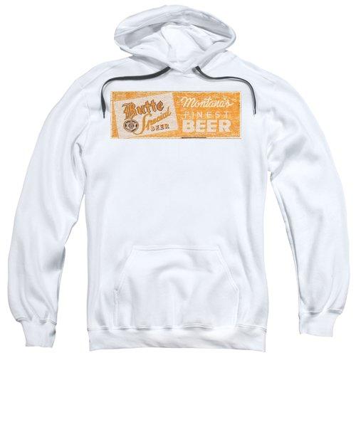 Butte Special Beer Ghost Sign Sweatshirt