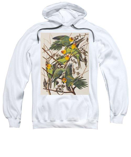 Carolina Parrot Sweatshirt by John James Audubon