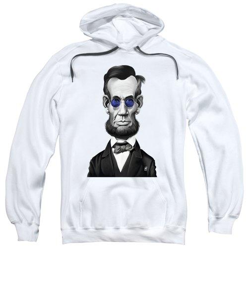 Celebrity Sunday - Abraham Lincoln Sweatshirt by Rob Snow