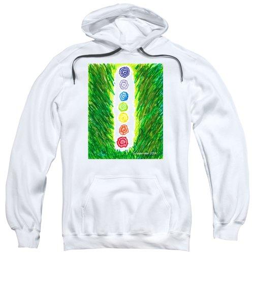 Chakra Garden Sweatshirt
