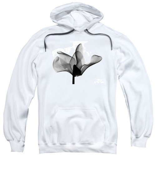 Cyclamen Flower X-ray Sweatshirt
