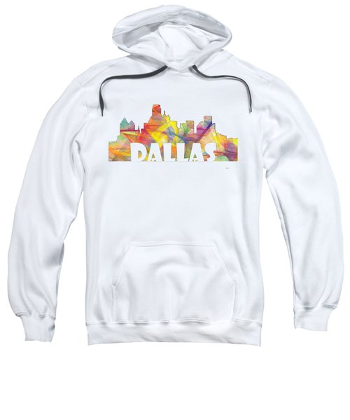 Dallas Texas Skyline Sweatshirt