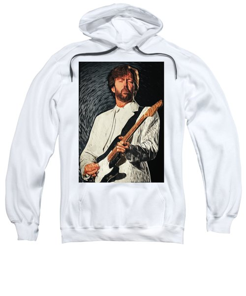 Eric Clapton Sweatshirt by Taylan Apukovska