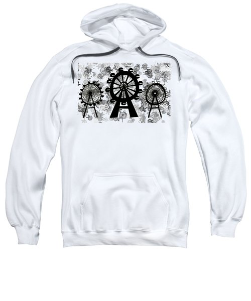 Ferris Wheel - London Eye Sweatshirt by Michal Boubin