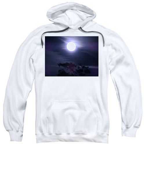 Full Moon Falling Sweatshirt