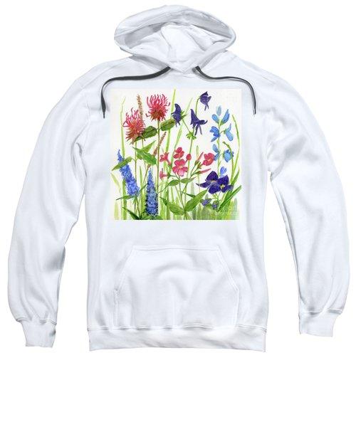 Garden Flowers Sweatshirt