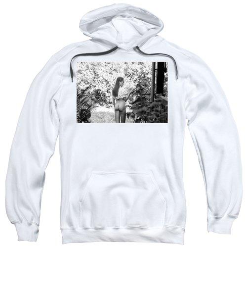 Girl In Swedish Garden Sweatshirt