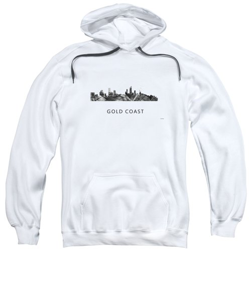 Gold Coast Australia Skyline  Sweatshirt