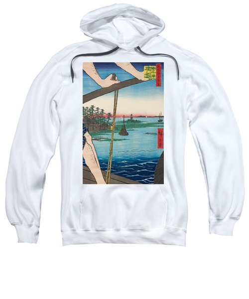 Haneda Ferry And Benten Shrine Sweatshirt