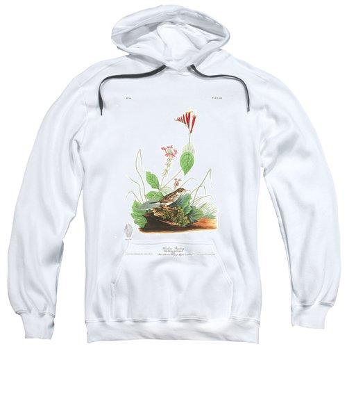 Henslow's Bunting  Sweatshirt by John James Audubon
