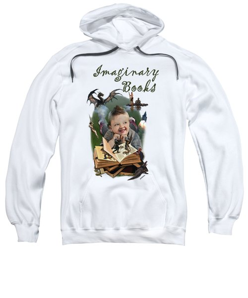 Imaginary Books Sweatshirt by Joseph Juvenal