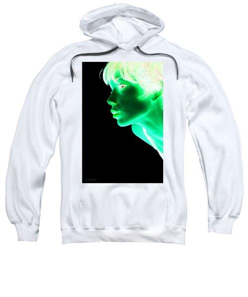 Inverted Realities - Green  Sweatshirt