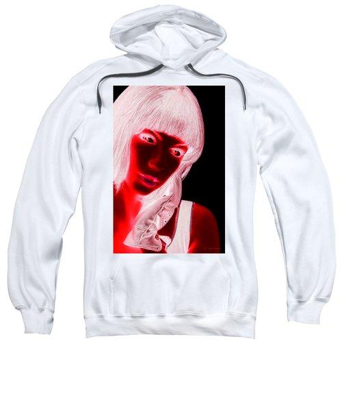 Inverted Realities - Red  Sweatshirt