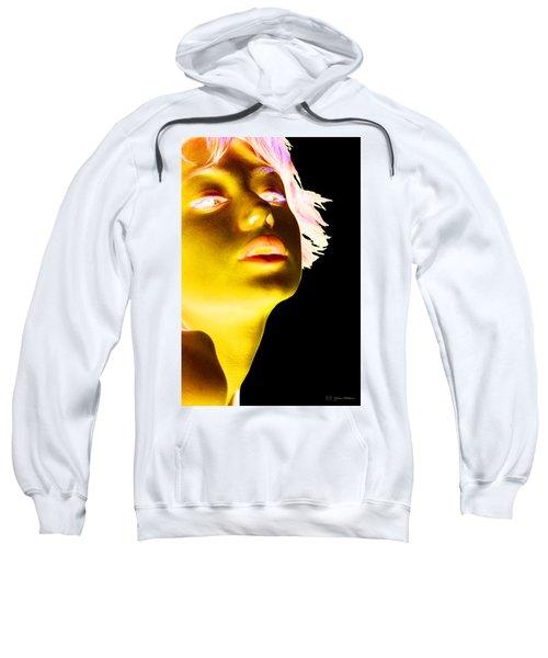 Inverted Realities - Yellow  Sweatshirt