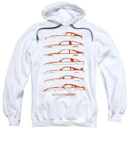 Japanese Sports Car Silhouettehistory Sweatshirt