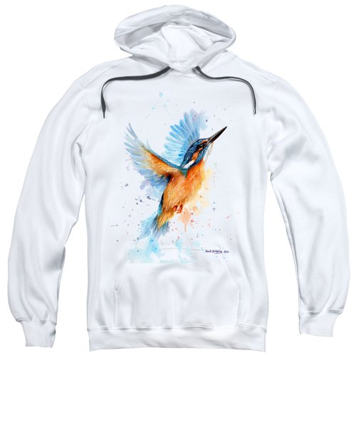 Kingfisher Sweatshirt by Sarah Stribbling