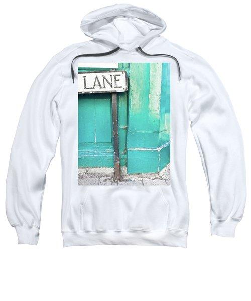 Lane Sign Sweatshirt