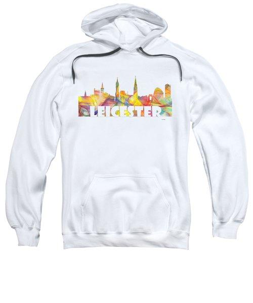 Leicester England Skyline Sweatshirt