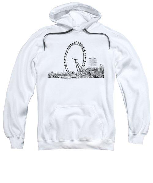 London Eye Sweatshirt by ISAW Gallery