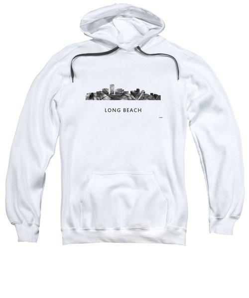Long Beach California Skyline Sweatshirt