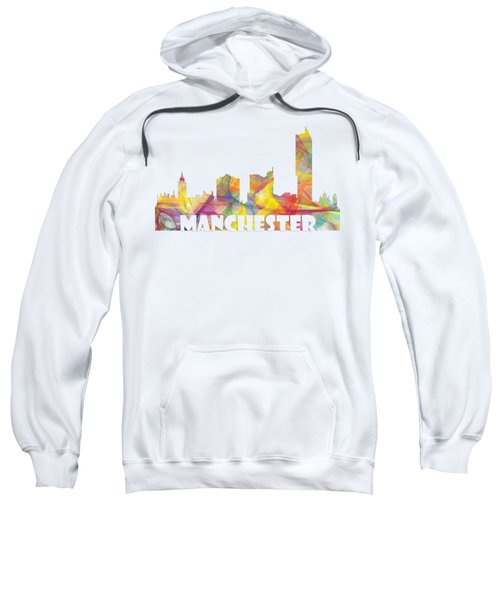 Manchester England Skyline Sweatshirt
