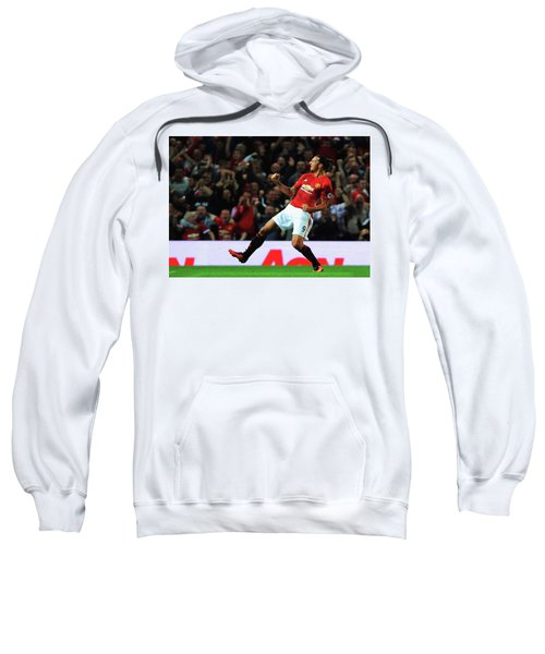 Manchester United's Zlatan Ibrahimovic Celebrates Sweatshirt by Don Kuing