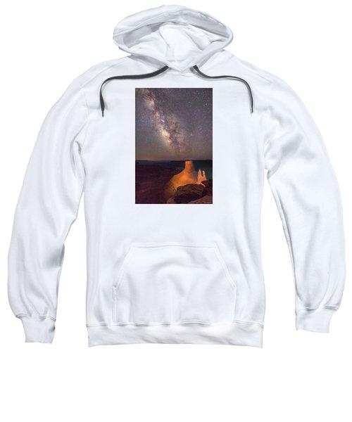 Milky Way At Marlboro Point Sweatshirt