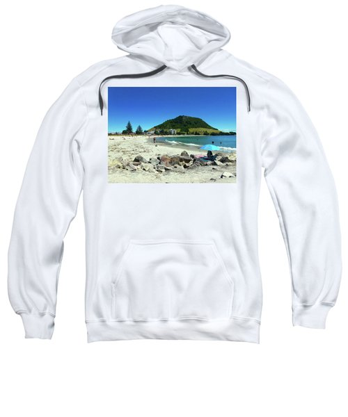 Mount Maunganui Beach 1 - Tauranga New Zealand Sweatshirt