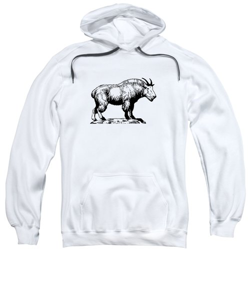 Mountain Goat Sweatshirt by Mordax Furittus
