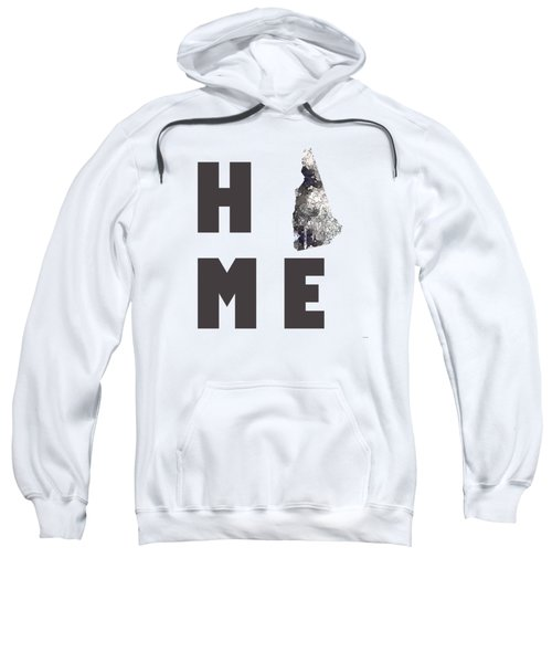 New Hampshire State Map Sweatshirt