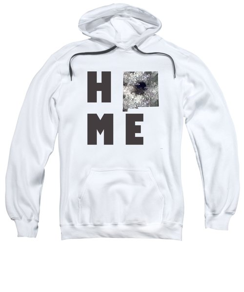 New Mexico State Map Sweatshirt