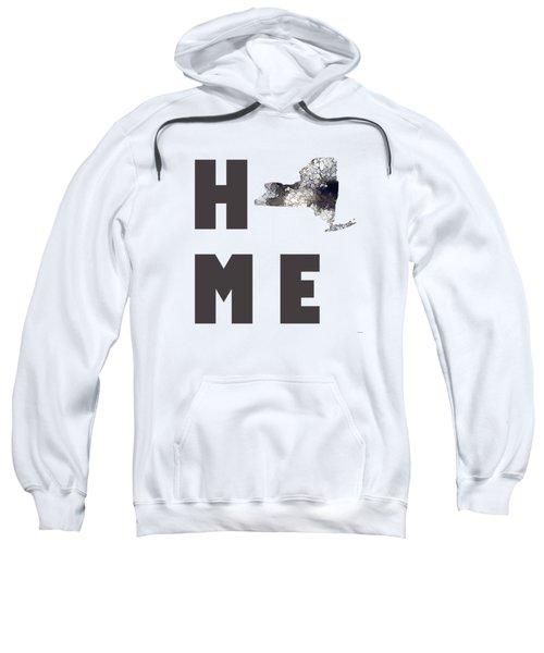 New York State Map Sweatshirt